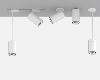 Smarter G2 Collection: Track Heads, Pendant Cylinder, Canopy Lights